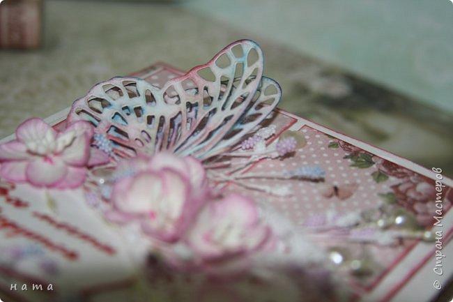 """Поскрапила немножко))) В подарок на свадьбу сотворился вот такой """"комодик-открытка"""" для денежки - три в одном, так сказать фото 8"""