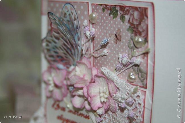 """Поскрапила немножко))) В подарок на свадьбу сотворился вот такой """"комодик-открытка"""" для денежки - три в одном, так сказать фото 10"""