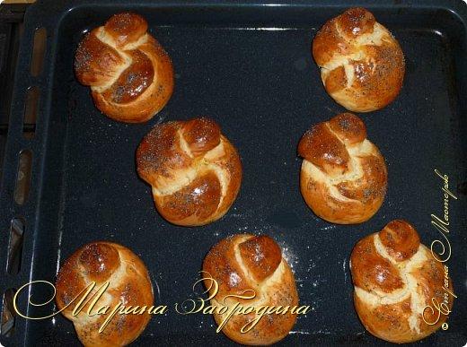 Сегодня я хочу предложить вашему вниманию булочки к завтраку. Очень вкусные, сладкие и нежные фото 7