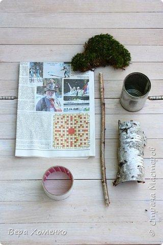 Пришла весна,хочется ей немного помочь,сделать зеленый дом для птичьего гнездышка.   фото 2