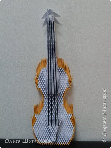 Подруга попросила сделать подарок для мамы, которая играет на скрипке.... фото 1