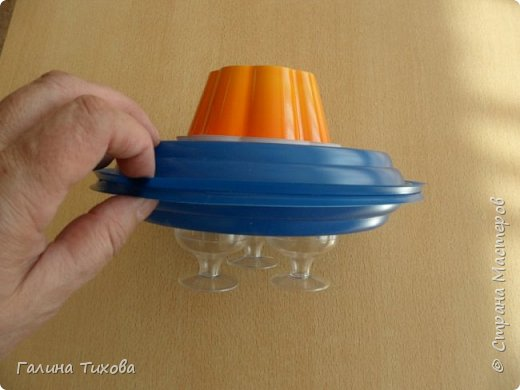 Летающая тарелка. Мастер-класс. фото 6