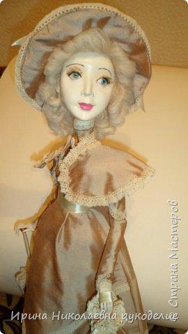 """Кукла сделана для выставки """"Секреты мастеров"""" . Проходящей с 10 апреля 2014 года в выставочном центре Нижнего Новгорда. фото 16"""