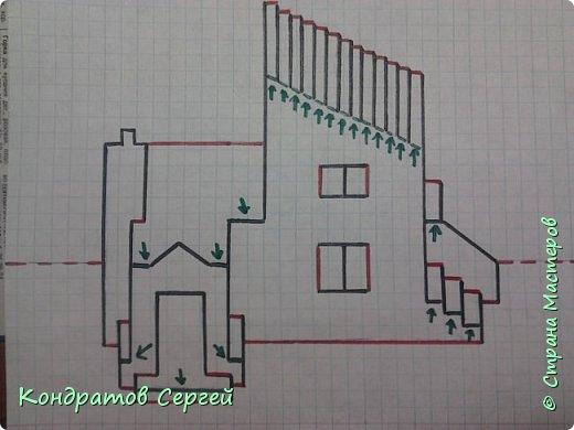 pop-up 3D открытка Дом