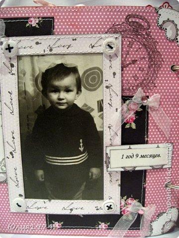 Сделала фото альбом, получился немного ретро, так как фото черно белые.  фото 28