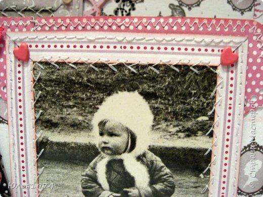 Сделала фото альбом, получился немного ретро, так как фото черно белые.  фото 32