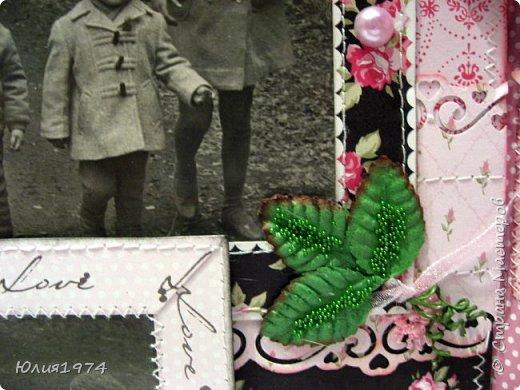Сделала фото альбом, получился немного ретро, так как фото черно белые.  фото 42