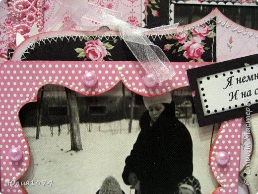 Сделала фото альбом, получился немного ретро, так как фото черно белые.  фото 47