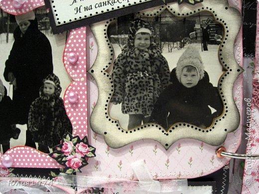 Сделала фото альбом, получился немного ретро, так как фото черно белые.  фото 49