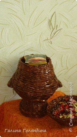 самовар для чайных пакетиков . спасибо за идею Елене Герасиной  фото 2