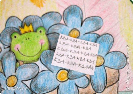 """Всем здравствуйте! Наконец то дорисовался домик, который я пообещала дочке еще года два назад, начала рисовать и забросила... Всё надеялась его доделать, но не было никаго вдохновения для него, а недавно вот решила таки его """"добить"""", чтоб глаза не мозолил, да и обещания нужно сдерживать :) фото 13"""