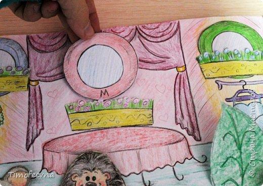 """Всем здравствуйте! Наконец то дорисовался домик, который я пообещала дочке еще года два назад, начала рисовать и забросила... Всё надеялась его доделать, но не было никаго вдохновения для него, а недавно вот решила таки его """"добить"""", чтоб глаза не мозолил, да и обещания нужно сдерживать :) фото 23"""