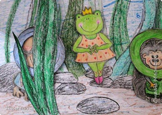 """Всем здравствуйте! Наконец то дорисовался домик, который я пообещала дочке еще года два назад, начала рисовать и забросила... Всё надеялась его доделать, но не было никаго вдохновения для него, а недавно вот решила таки его """"добить"""", чтоб глаза не мозолил, да и обещания нужно сдерживать :) фото 25"""