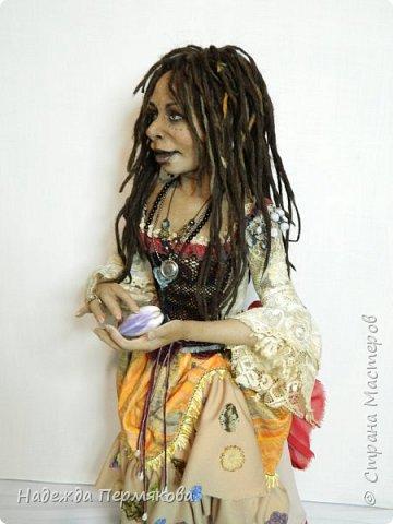 Текстильная кукла размер 62 см сделана из капрона, наполнитель синтепон. Тео Дальма персонаж из фильма Пираты Карибского моря. фото 3