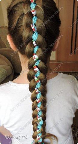 Мастер-класс Прическа Плетение Прическа в школу + МК Волосы фото 1