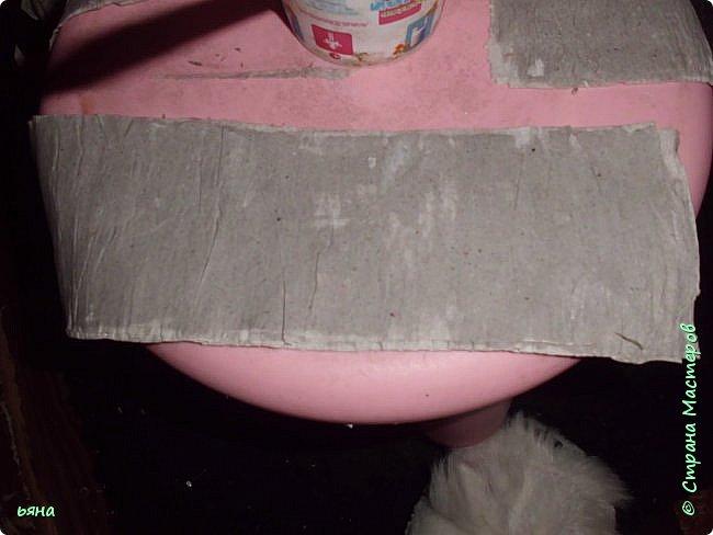 Мастер-класс Бумагопластика Кованая роза из туалетной бумаги Бумага Диски ватные Клей Краска Проволока фото 4