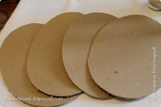 Мастер-класс Плетение МК по обтягиванию картона тканью Картон Клей Ткань фото 6