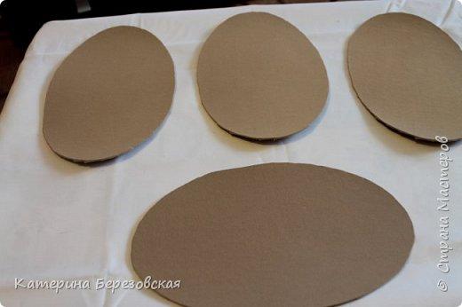 Мастер-класс Плетение МК по обтягиванию картона тканью Картон Клей Ткань фото 20