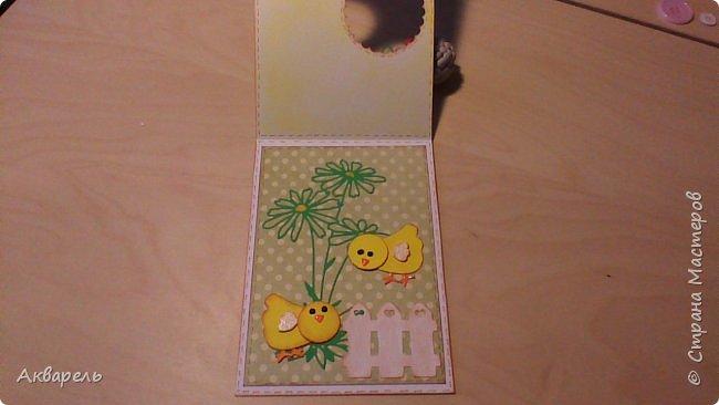 Первая партия открыток к Пасхе. Как всегда аккуратненько и по детски. Ну что же, наверное это мой стиль. фото 4