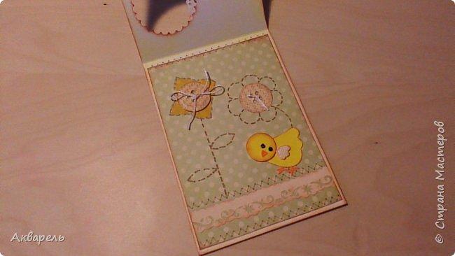 Первая партия открыток к Пасхе. Как всегда аккуратненько и по детски. Ну что же, наверное это мой стиль. фото 10