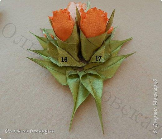Мастер-класс Украшение Моделирование конструирование МК махрового тюльпана Бисер Бусины Клей Ленты фото 18