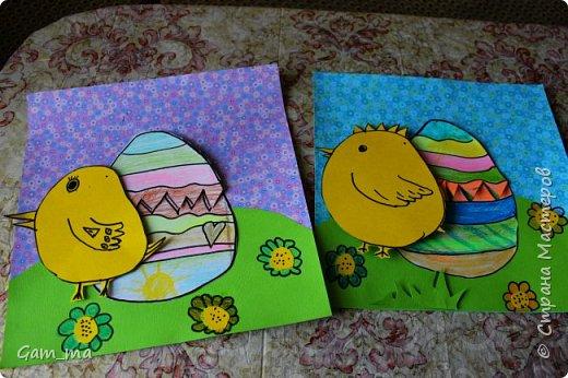 Пасхальные открытки с сюрпризом. фото 1