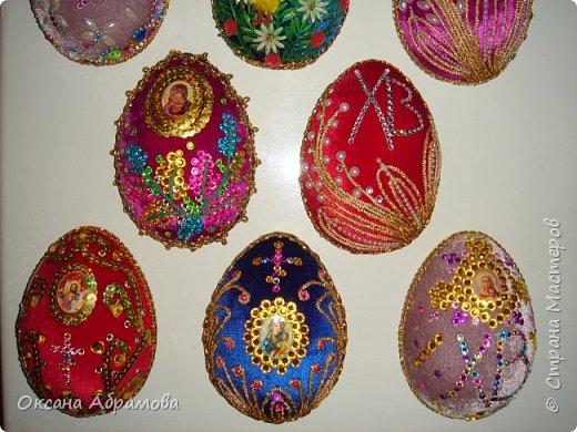 """Дорогие рукодельницы, поздравляю вас с наступающим светлым праздником ПАСХИ ! Однажды увидела в """"Стране Мастеров"""" шикарные яйца из бархата, обязательно посмотрите https://stranamasterov.ru/node/709253  Вот попробовала, не могла оторваться!  фото 9"""