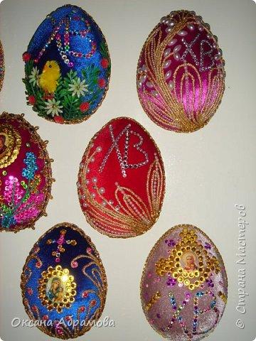 """Дорогие рукодельницы, поздравляю вас с наступающим светлым праздником ПАСХИ ! Однажды увидела в """"Стране Мастеров"""" шикарные яйца из бархата, обязательно посмотрите https://stranamasterov.ru/node/709253  Вот попробовала, не могла оторваться!  фото 11"""