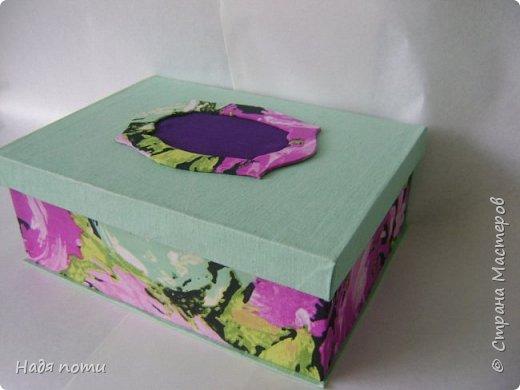 Такая круглая коробочка получилась у меня фото 8