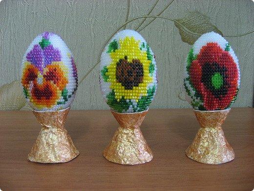 Бисероплетение пасхальные яйца бисер