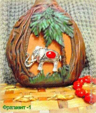 Декор предметов Любимый слоненок Раджи Бутылки стеклянные Кожа Металл фото 4