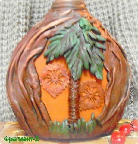 Декор предметов Любимый слоненок Раджи Бутылки стеклянные Кожа Металл фото 5