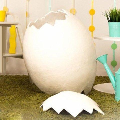 Недавно я получила необычный заказ для пасхального фото-проекта. Нужно было сделать огромное яйцо, да чтобы туда помещался ребенок! О выбранном пути и трудностях на нем, читайте ниже :)  фото 16