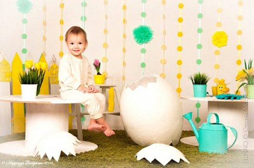 Недавно я получила необычный заказ для пасхального фото-проекта. Нужно было сделать огромное яйцо, да чтобы туда помещался ребенок! О выбранном пути и трудностях на нем, читайте ниже :)  фото 18