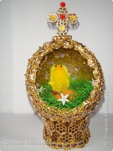 """Дорогие рукодельницы, поздравляю вас с наступающим светлым праздником ПАСХИ ! Однажды увидела в """"Стране Мастеров"""" шикарные яйца из бархата, обязательно посмотрите https://stranamasterov.ru/node/709253  Вот попробовала, не могла оторваться!  фото 12"""