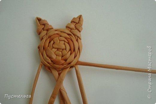 Игрушка Плетение Котики Бумага Трубочки бумажные фото 14