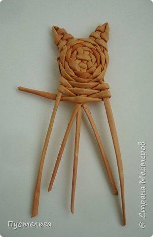 Игрушка Плетение Котики Бумага Трубочки бумажные фото 15