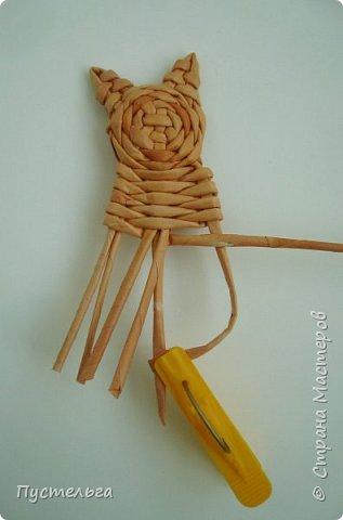 Игрушка Плетение Котики Бумага Трубочки бумажные фото 16