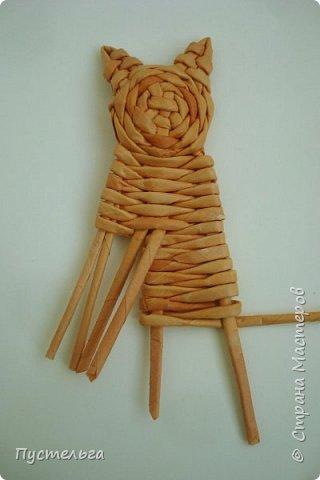 Игрушка Плетение Котики Бумага Трубочки бумажные фото 17