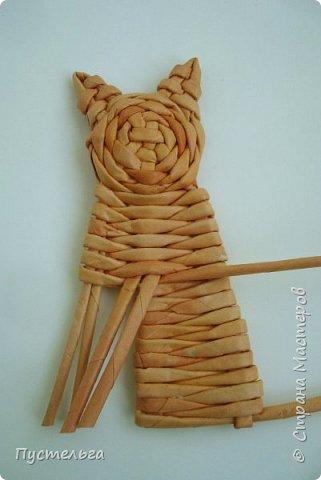 Игрушка Плетение Котики Бумага Трубочки бумажные фото 18