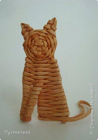 Игрушка Плетение Котики Бумага Трубочки бумажные фото 20