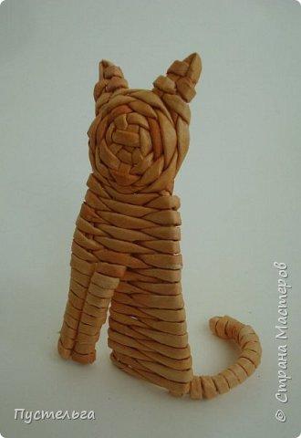 Игрушка Плетение Котики Бумага Трубочки бумажные фото 21