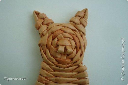 Игрушка Плетение Котики Бумага Трубочки бумажные фото 23