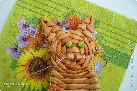 Игрушка Плетение Котики Бумага Трубочки бумажные фото 27