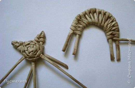 Игрушка Плетение Котики Бумага Трубочки бумажные фото 29