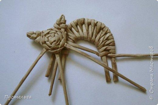 Игрушка Плетение Котики Бумага Трубочки бумажные фото 30