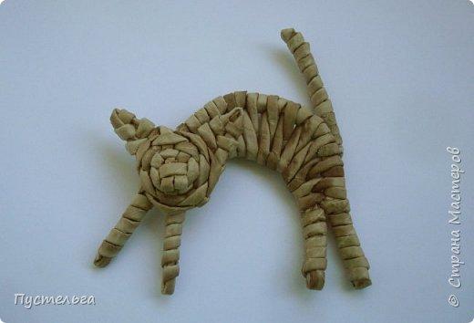 Игрушка Плетение Котики Бумага Трубочки бумажные фото 31