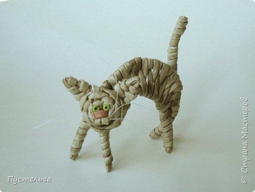 Игрушка Плетение Котики Бумага Трубочки бумажные фото 32