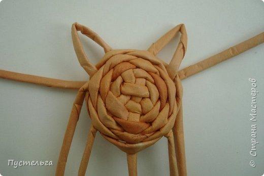 Игрушка Плетение Котики Бумага Трубочки бумажные фото 10