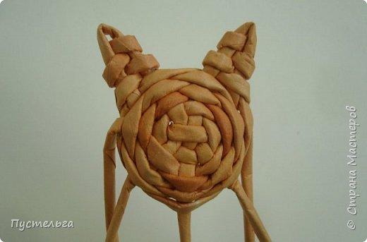 Игрушка Плетение Котики Бумага Трубочки бумажные фото 12